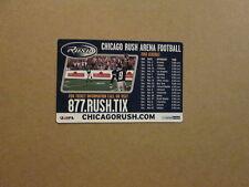 AFL Chicago Rush Vintage 2003 Logo Magnet Schedule