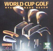 World Cup Golf: Hyatt Dorado Beach (CD) Play in 1 of 4 Alternative Championships
