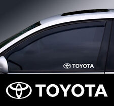 2 X Toyota Window Decal Sticker Gráfico * Color Elección *