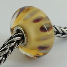 Authentic Trollbeads Murano Glass Drifting Seeds (E) Bead Charm, 61406  New