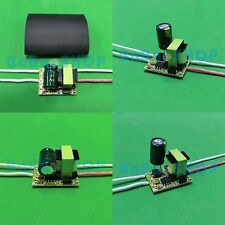 4pcs AC Driver 85V-265V Power Supply 1x1W 3x1W for LED Lamp Light GU10 E27 1W 3W