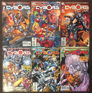DC Special Cyborg #1 2 3 4 5 6 DC Comics Complete Set Teen Titans NM