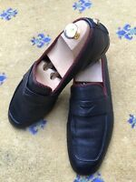 Gucci Mens Shoes Black Leather Tiger Loafers UK 8.5 US 9.5 EU 42.5 450992 Web 9