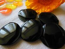 lot 10 boutons noir doré coeur effet charbon  couture à pied 1,7 cm ref 3053
