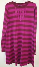BNWT Hanna Andersson Russet/Plum Tunic Dress ~ Girl's Size 150, 11-13 Year