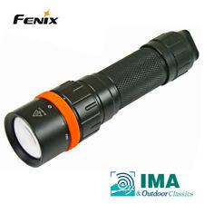 New Fenix SD11 Cree XM-L2 U2 , XQE Red LED 1000 Lumens 100M Diving Flashlight
