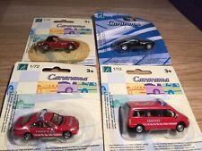 JOBLOT 1/72 HONGWELL CARARAMA MERCEDES BMW BOXED BUNDLE LOT X4