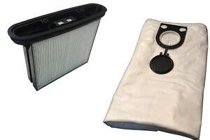 1x Filter PES (auswaschbar) + 5 / 10 / 15 / 20 Beutel geeignet für Bosch GAS 25