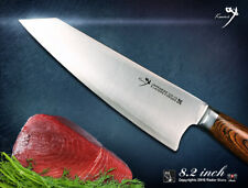 Kiritsuke Premier Chef knife 8.2 in Japanese VG-10 Steel Kitchen Cutlery Classic
