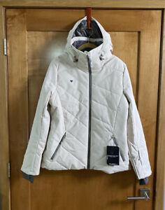 Obermeyer Lorena Ski Jacket Women's Size 12 Tahini