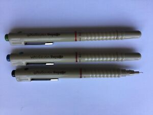 Rotring Set of 3 Unboxed Variograph 0.2 Technical Pens