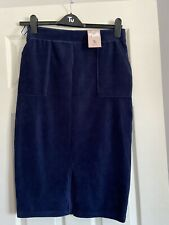 Gorgeous Navy Blue Skirt Size 10 By Tu £14