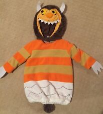NWOT POTTERY BARN KIDS WHERE THE WILD THINGS ARE MONSTER 12-24 MONTHS COSTUME