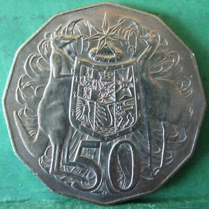 1969 Australia 50c Fifty Cents #RB1811 =Lightly Circulated=