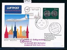 67836) LH FF Köln - Moskau 18.9.2000, So-Karte ab Irland
