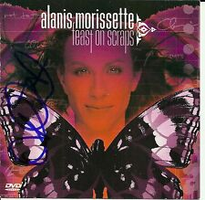 Alanis Morissette signed Feast on Scraps cd