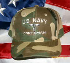 CORPSMAN CHILD SON DAUGHTER MOM DAD HAT US NAVY CAP MARINES DOC MEDIC GIFT WOW