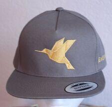 Zenefits Duck Bird Ball Cap Trucker Hat Snapback Adjustable Gray 100% Cotton NWT