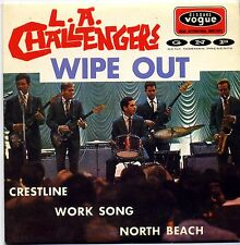 L.A. CHALLENGERS - Wip out - CD 4 TITRES