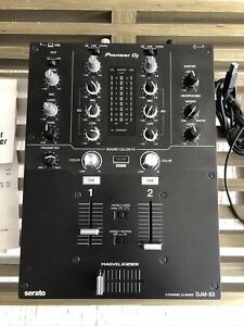 PIONEER DJM-S3 Mixer with Serato DJ PRO enabled