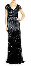 formal evening full length dress liz jordan black size 8