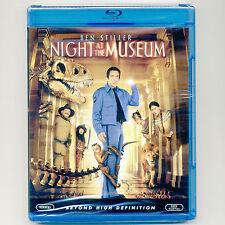 Night At The Museum PG movie, new Blu-ray Ben Stiller, Dick Van Dyke, R Williams