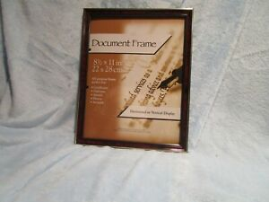 "Document Frame 8 1/2"" x 11""All Purpose Frame Horizontal / Vertical Display"