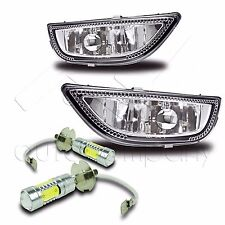 2001-2002 Corolla Replacement Fog Lights w/ High Power COB LED Bulbs - Clear