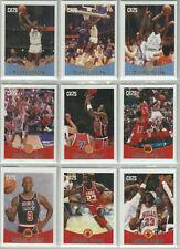 MICHAEL JORDAN CUSTOM BASKETBALL CARDS COMPLETE SET (30) LIMITED EDITION