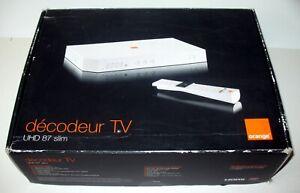 Décodeur TV Orange UHD 87 Slim - Complet, neuf, jamais déballé