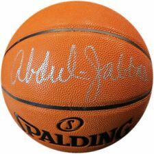 Kareem Abdul-Jabbar Signed Autographed NBA Game Series Basketball Lakers Beckett