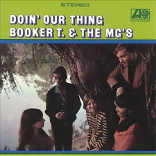 """12"""" LP Booker T. & The MG`s Doin`Our Thing 60`s Atlantic 7724"""