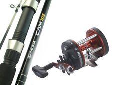 SARATOGA 6'6 15kg Overhead Trolling Boat Fishing Rod and Reel Combo Tuna