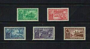 New Zealand 1936 Congress, British Empire Chambers of Commerce, MLH set,
