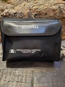 American Football conference game issued Bushnell binoculars Charlie Lee estate