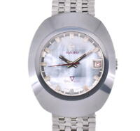RADO Balboa Cut glass Blue shell Dial Automatic Men's Watch J#103218