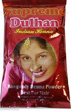 150g - Burgundy Supreme herbal Henna Powder Hair Color Dye Amla SHIKAKAI ARITHA