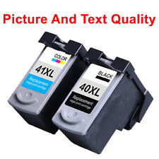 2 Compatible Ink Cartridges PG40 CL41 For Canon MP210 MP220 MP450 MP160 MP170