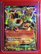 Pokemon card - Charizard EX Holo XY Promo Edition XY29 1st Mega M Black & White