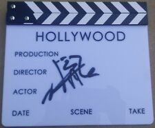 JACKIE CHAN SIGNED HOLLYWOOD USA CHINA MOVIE DIRECTOR CLAPBOARD AUTO PHOTO PROOF
