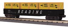 NIB O MTH RailKing 30-72116 Gondola w/Crates Reading #29056