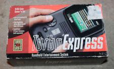 1990's Turbo Express Turbografx 16 w/ Original Box & Instructions