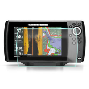 Crystal Clear Screen Protector for Humminbird Helix 7 DI Fish Finder | Plotter