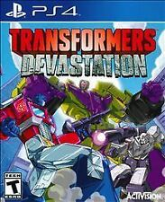 Transformers: Devastation Sony PlayStation 4 2015 Brand New Factory Sealed Game