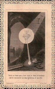 SANTINO DEL 1901 - RICORDO DELLA PRIMA MESSA SACERDOTE - CASTINO CUNEO