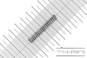 Druckfeder Drahtstärke: 1mm, Außen Ø: 7,3mm, Länge: 43,5mm, Edelstahl