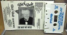 DICK DALE autograph Way We Were cassette tape 1989 cabaret vocals