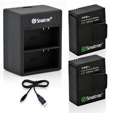Smatree Battery Charger kit for GoPro Hero 3 Go Pro HERO3 3+ 2 x Batteries