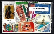 Surinam 50 timbres différents