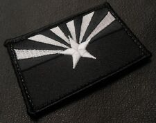 ARIZONA STATE FLAG TACTICAL USA ARMY BLACK OPS SWAT VELCRO® BRAND FASTENER PATCH